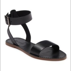 * Madewell The Boardwalk Leather Ankle Strap…